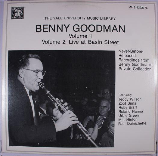 《二手美版黑膠》Never Before Released Recordings From Benny Goodman'