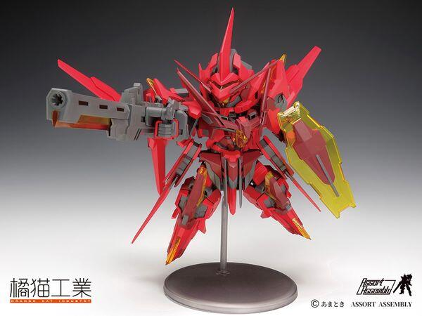 橘貓工業 獵風閃創 ExCreR-GustClaw 組裝模型,6973848780011