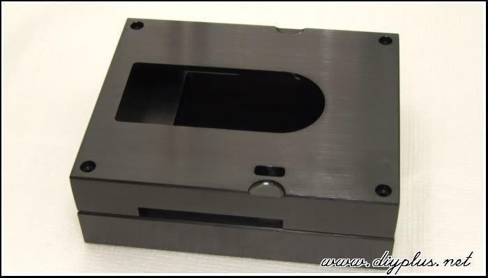 [DIYPlus][音響DIY]CDPRO2全罩式底座(上蓋+下座)(全實心鋁+CNC+黑色陽極處理)
