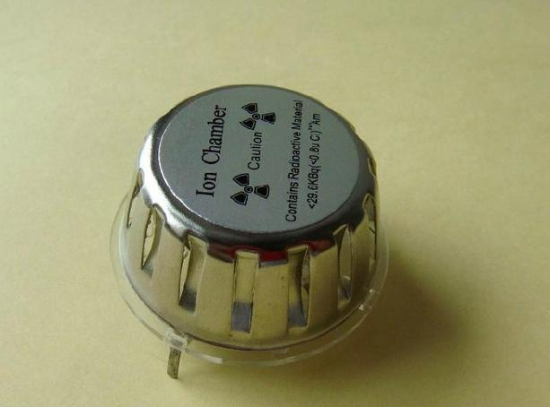 稀有放射性金屬 鋂Am-241離子式煙霧感測器 NIS-07 含微量放射性同位素Am-241