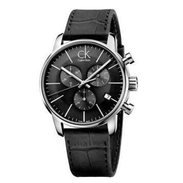 全新CK手錶男錶 CITY系列時尚多功能三眼計時夜光日曆石英男士手錶K7627107 K2G276G3