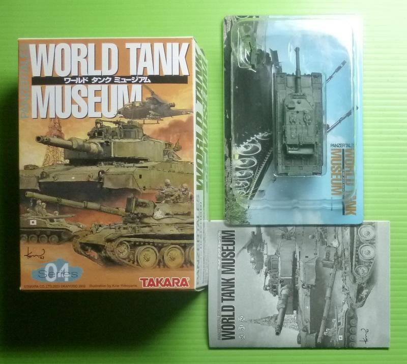 [玩具DNA] 1/144 WTM 坦克博物館4彈 (60. 90式戰車單色迷彩)※全新.附膠盒.紙盒及彈紙.