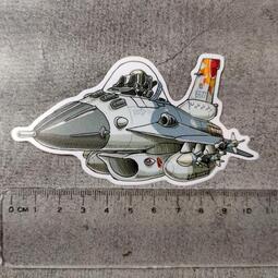 鐵鳥迷*空軍F-16/IDF/幻象2000/F-5E戰機*防水塑膠貼紙8款
