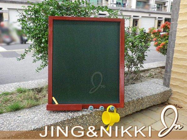 黑板/白板【復古鄉村風黑板-直式】木框黑板 白板 店面用菜單 客製黑板 超大黑板 造型白板 A字板*JING&NIKKI