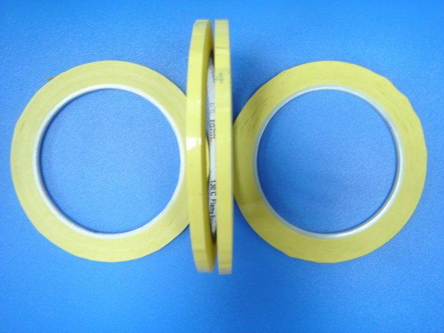 【全冠】0.5公分.0.47公分.0.45公分.0.44公分黃色耐熱膠帶 130度c.防焊膠帶.電子工業用《vn622》