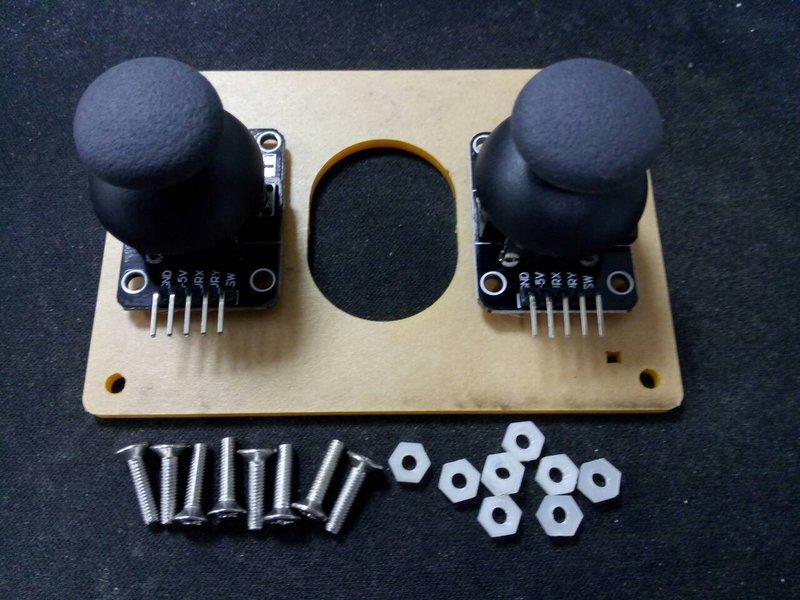 [RWG] Arduino MeArm 蘑菇頭 香菇頭 雙軸按鍵 搖桿