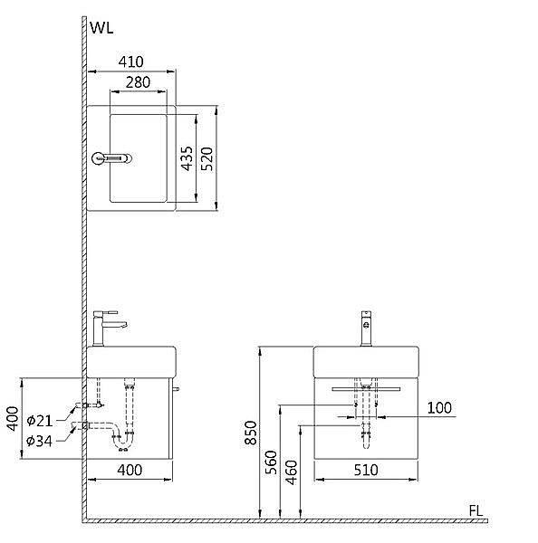 ※三重京典衛浴專賣※ OVO 京典衛浴 方形立體盆浴櫃組 L6405S/HD50F [免運費]