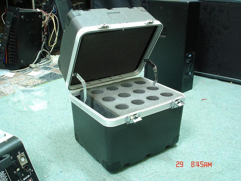 專業麥克風存放箱