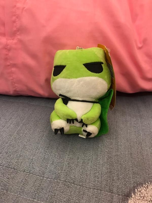 旅行青蛙小玩偶