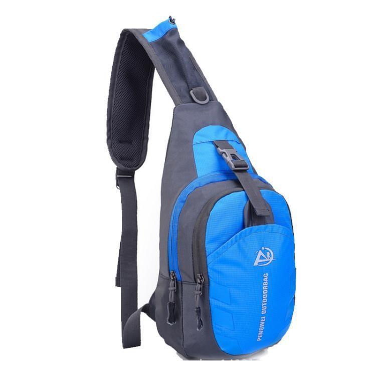 戶外運動胸包多功能腰包斜背包騎行旅行配件包~小紅家居館