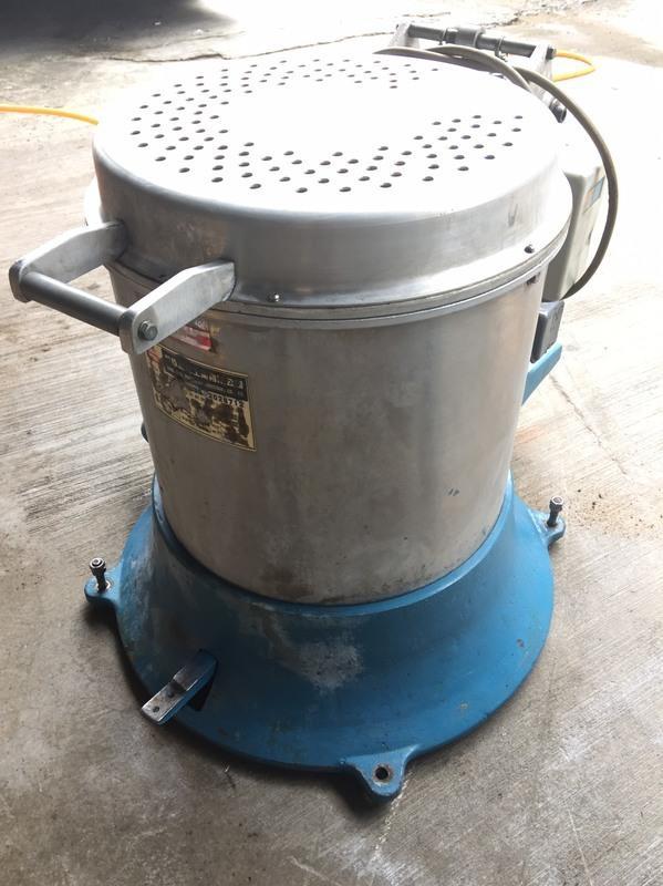 (售完)脫水機《專營中古機械買賣/CNC電腦車床/ CNC電腦銑床/各式加工機械》