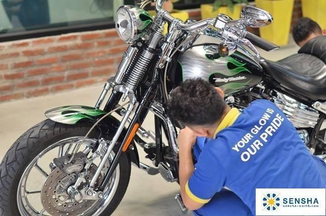 洗車王國*水晶甲衣鍍膜劑*-1年長效型10ml_日本銷售No.1/ 重機、機車、自行車鍍膜