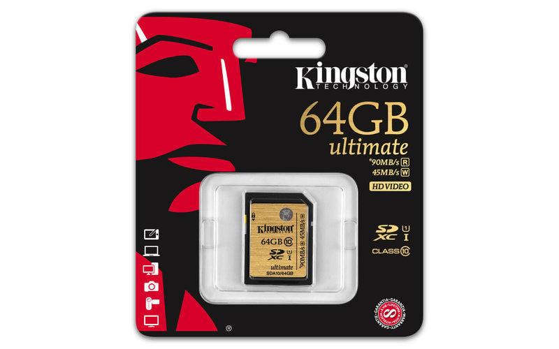 【河馬】SDA10/64GB 金士頓 SDXC 記憶卡 Class 10 64G 300X UHS-I Ultimate