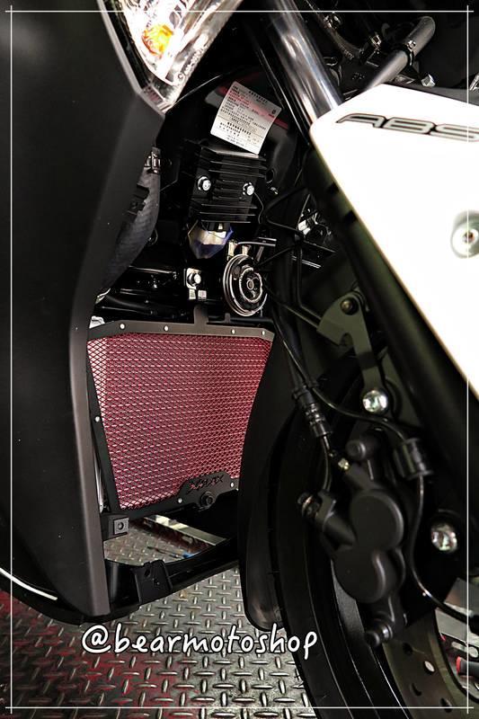 【貝爾摩托車精品店】DIMOTIV YAMAHA XMAX 300 17 水箱護網-基本款(黑鋁框)DMV 實裝