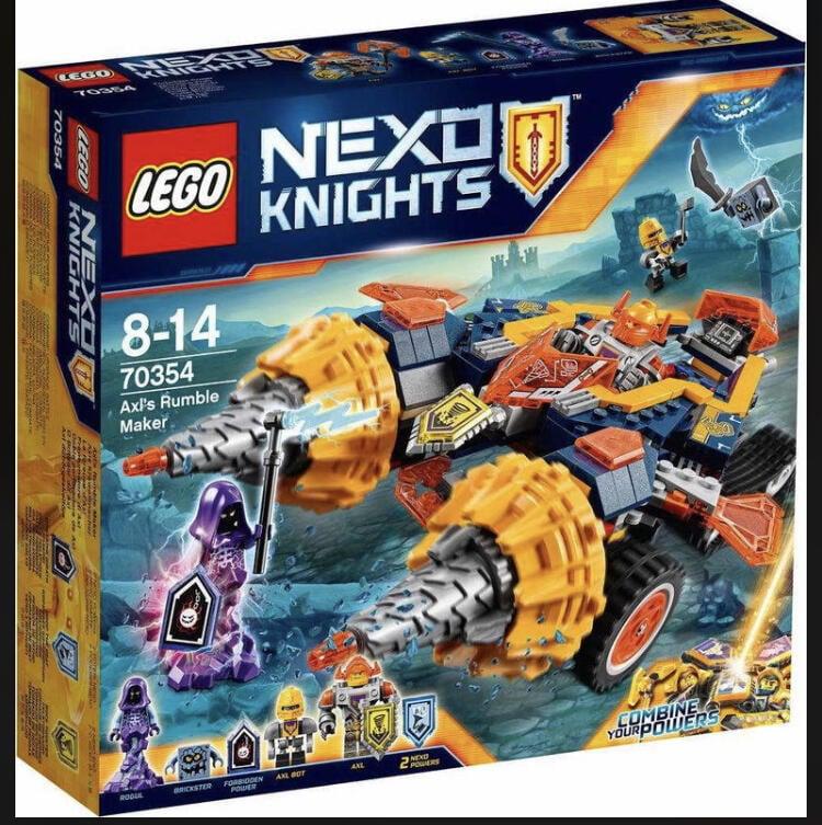 Lego樂高 70354多件優惠全新無拆袋艾克索的碎石坦克 (無盒,無貼紙,可傳說明書電子檔)