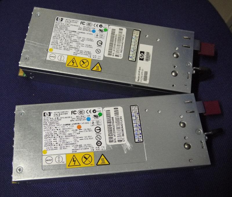 ~禾元嘉~ 特殊電源供應器 HP 型號:DPS-800GB A Power DL380G5 良品價2000元