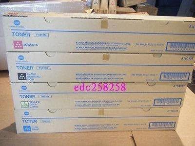 1金儀konica minolta bizhub C224e/C284e c364e影印機碳粉TN321k/tn-321