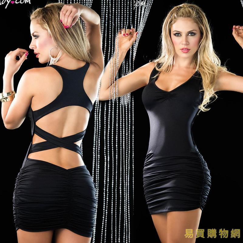 易買購物網-情趣三點式情趣內衣 歐美情趣內衣 性感夜店裝 情趣睡裙 制服4327