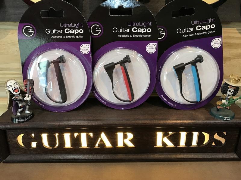 [Guitar Kids吉他寶貝] 吉他移調夾 G7TH Ultra Light系列 6弦專用移調夾【終身保固】