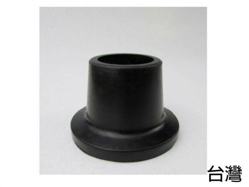 橡膠腳套 腳墊 - 孔徑2.7cm 高3.8cm 黑色 2個入 洗澡椅使用 [ZHTW1719-878A] 台灣製