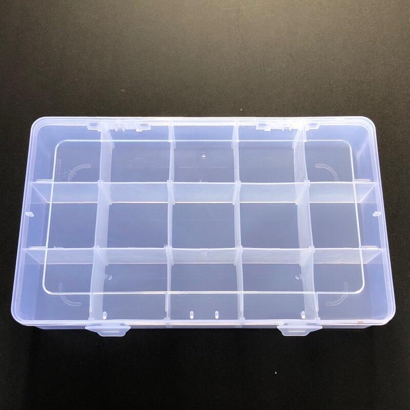 現貨 全新 透明 戰鬥陀螺 15格 收納盒