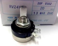 [含稅]單圈電位器 RV24YN20F B504 500K TOKYO 半柄(半軸)
