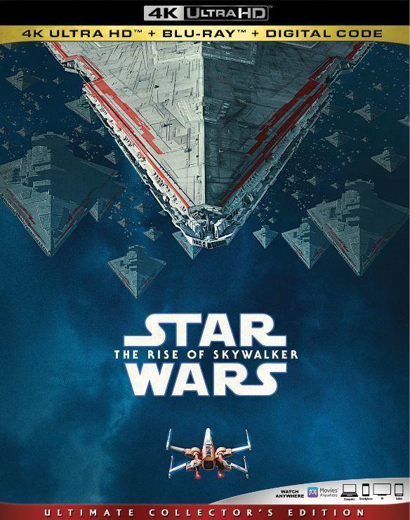 [藍光讚](預購免運費)美版STAR WARS:天行者的崛起4K UHD+2D藍光3碟版(英文字幕),預定4/30到貨