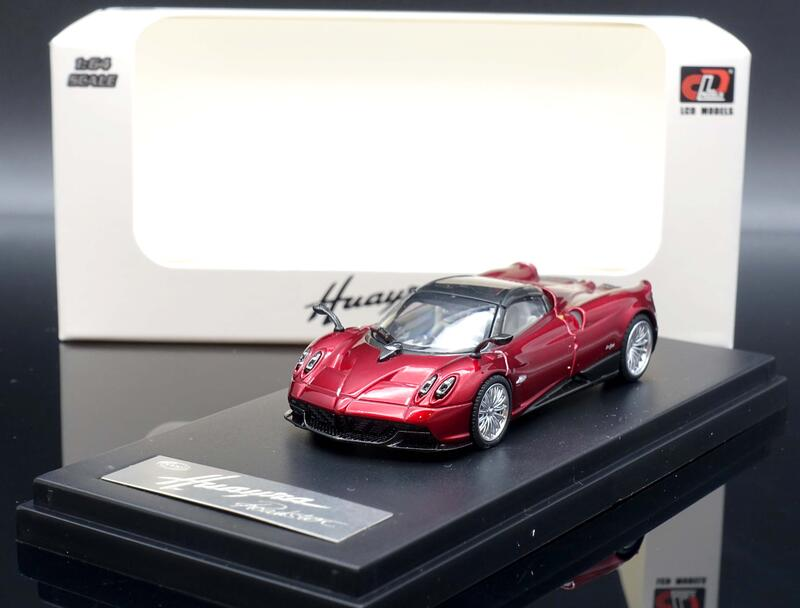 【M.A.S.H】現貨特價 LCD 1/64  Pagani Huayra Roadster red