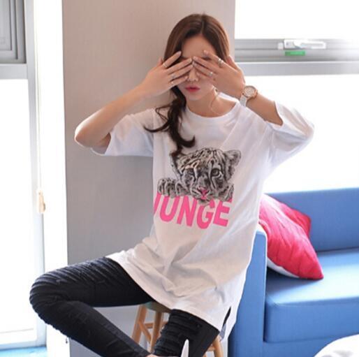 短袖T恤 韓版 寬鬆 老虎頭打底衫 閨蜜(KS0266) 一級棒Al新品 全館免運