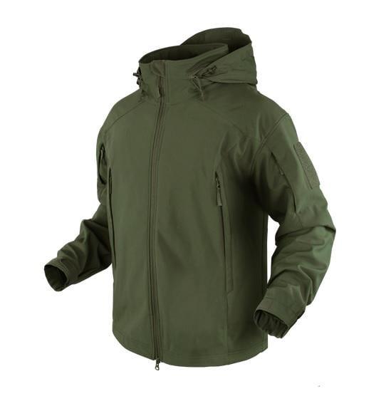 【TAF 現貨】CONDOR 101098 Element Soft Shell 戰術防風保暖軟殼外套(軍綠色)