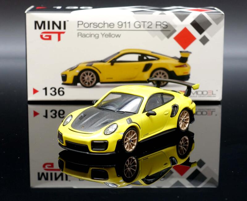 【M.A.S.H】現貨特價 Mini GT 1/64 Porsche 991 GT2 RS Racing Yellow