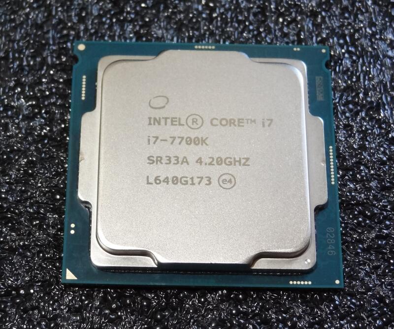 【。。】報帳故障品 Intel Core i7 7700K 七代 1151 CPU