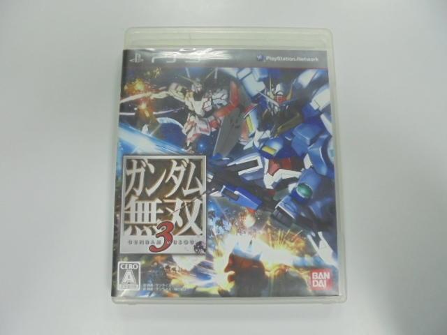PS3 日版 GAME 鋼彈無雙3 (41022832)