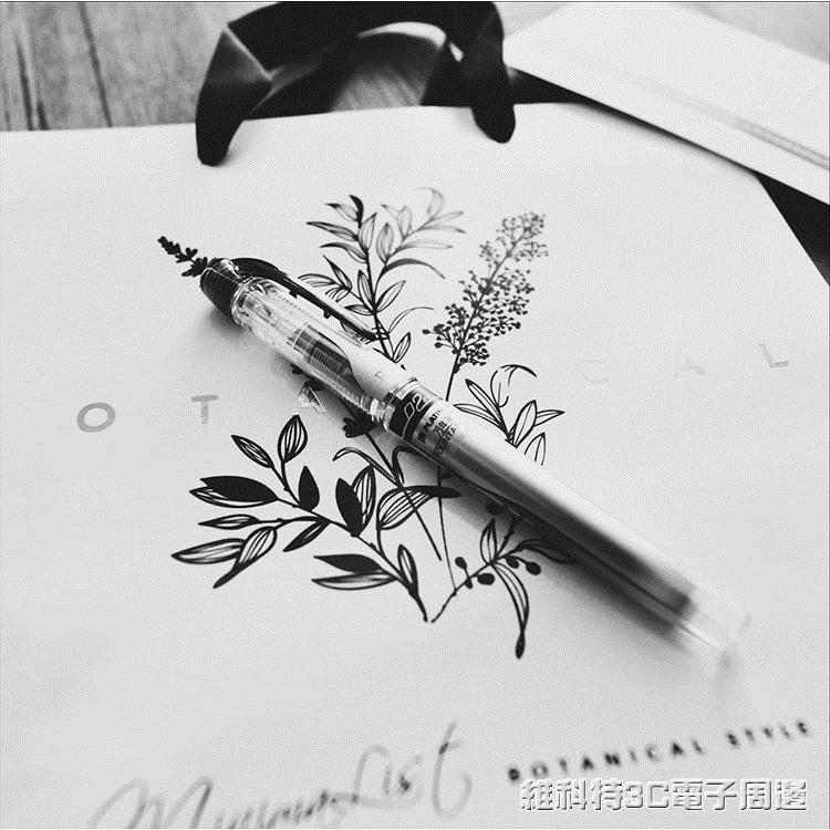 鋼筆 白金PPQ-300鋼筆 細透明 EF尖 萬年筆/小紅家生活館