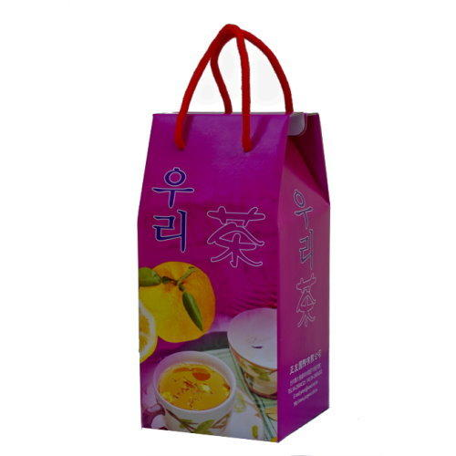 高麗購◎正友二公斤柚子茶禮盒裝一箱(6瓶,6禮盒)