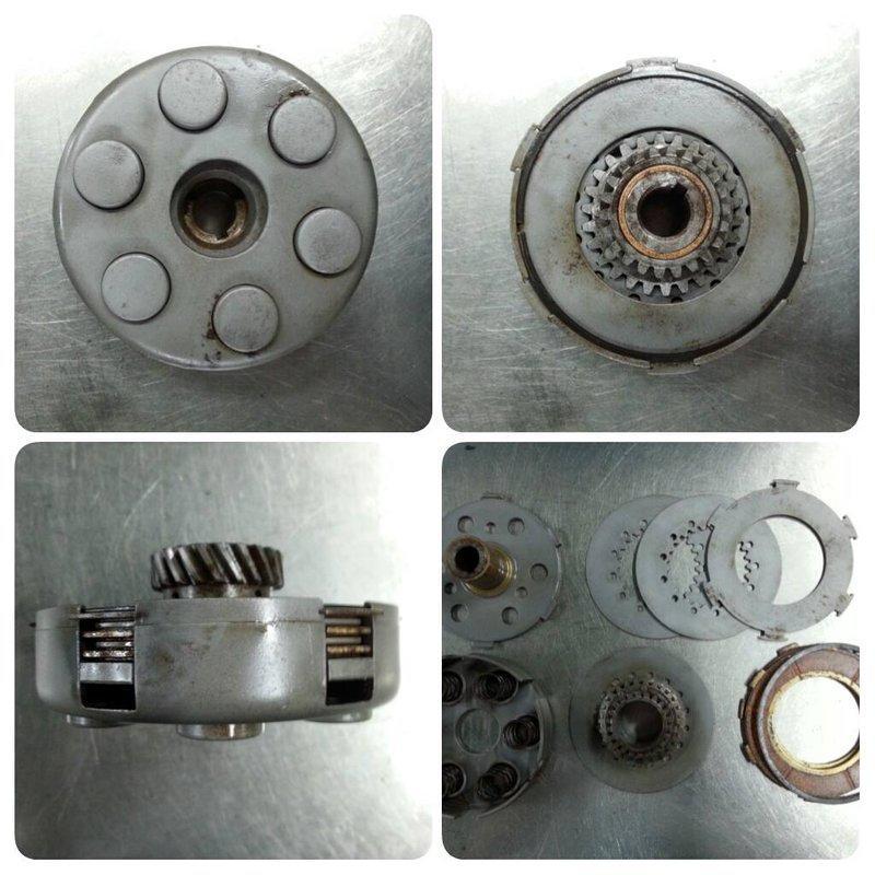 偉士牌 VESPA 離合器總成 六孔 PX SV適用 <已售出 感謝>