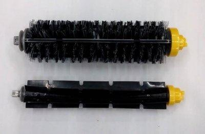 (236)irobot roomba 600 700系列的毛+膠刷二支滾刷 irobot配件 六系列七系列