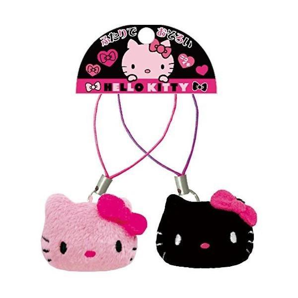 HELLO KITTY 日本正版進口 三麗鷗 sanrio 凱蒂貓 毛絨公仔 手機相機包包 吊飾 掛鍊 掛件飾品 巴哥君