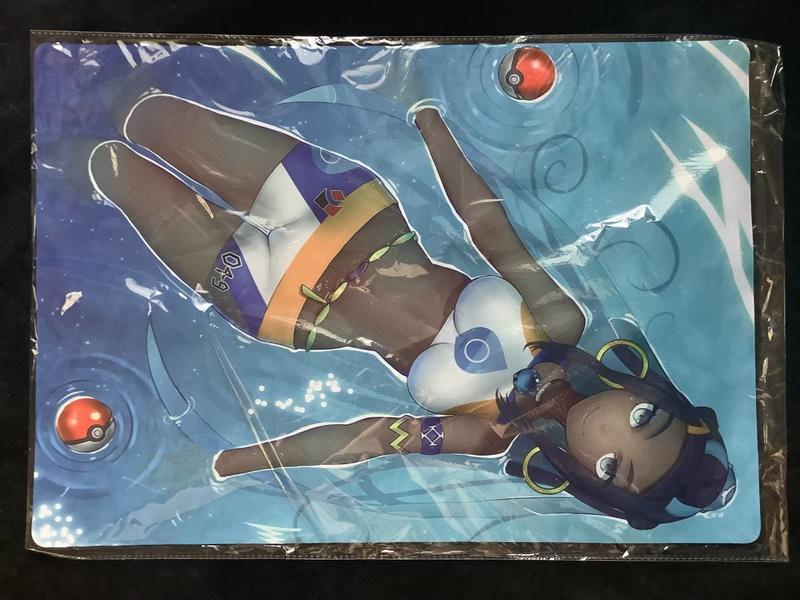 (平和島)(同人) 精靈寶可夢/神奇寶貝 露璃娜 桌墊 桌布 (日本代購)