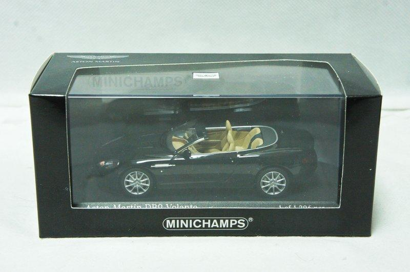 【超值特價】1:43 Minichamps Aston Martin DB9 Convertible 2009 ※限量※
