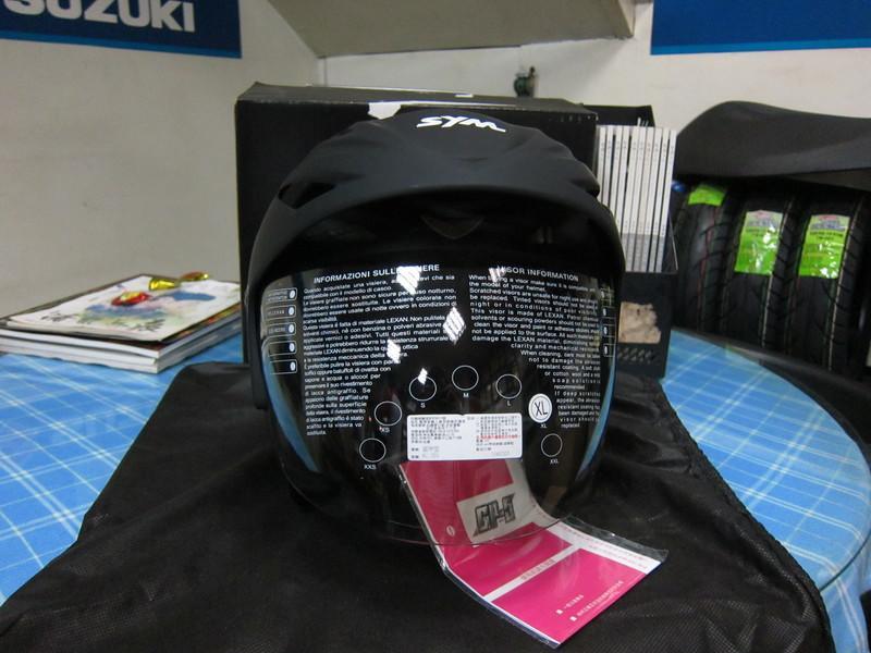 SYM 三陽 黑武士安全帽 XL SYM-202 GP-5 3/4安全帽 附帽袋