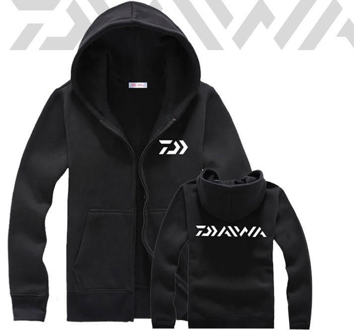 ★ 碼頭愛釣族 ★ Daiwa磯釣海釣防寒加絨保暖衣外套 /黑/灰/S~2XL