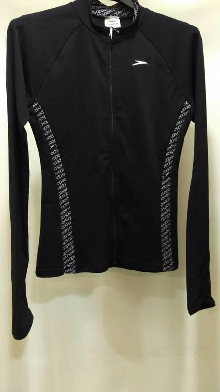 L號 SPEEDO 女 休閒長袖拉鍊式防曬衣 原價2580 特價2000