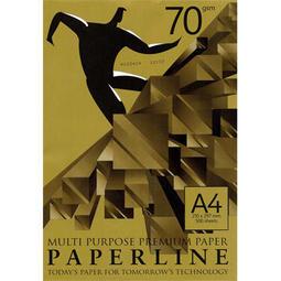 PaperLine GOLD 金牌 影印紙 70磅 70p A4 500張/包 電腦紙 列印紙 傳真紙 模造紙