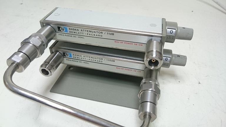 【攸仕得儀器】HP 8494A+8496A 手調式衰減器