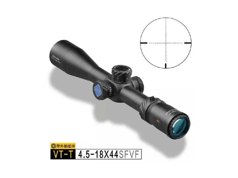 台南 武星級 DISCOVERY發現者 VT-T 4.5-18X44 SFVF FFP 狙擊鏡(真品倍鏡抗震內紅點紅外線