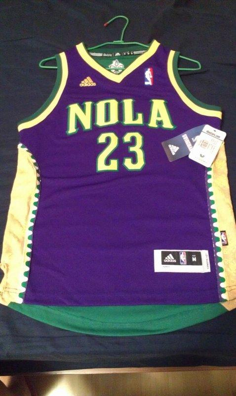 f7101edcd ... netherlands nba adidas new orleans hornets anthony davis mardi gras  youth m swingman jersey 34425 8e7f9