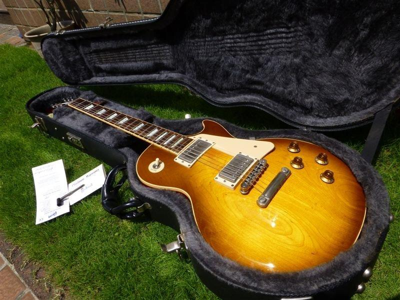 【Chad's Guitar】Gibson Les Paul Standard Honey Burst