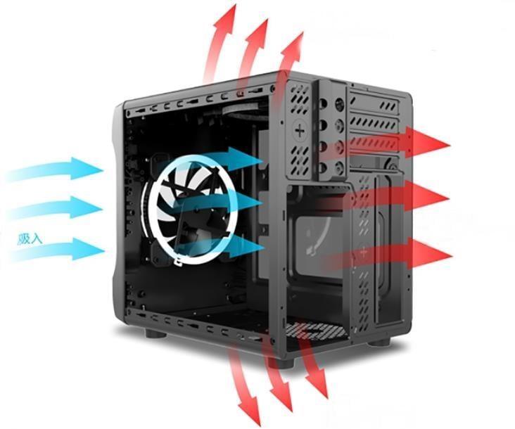 迷你機殼 迷你電腦 電腦小機殼 迷你小機殼 甲殼蟲2 甲殼蟲 小機殼 usb3.0 atx itx小機殼 標準電源