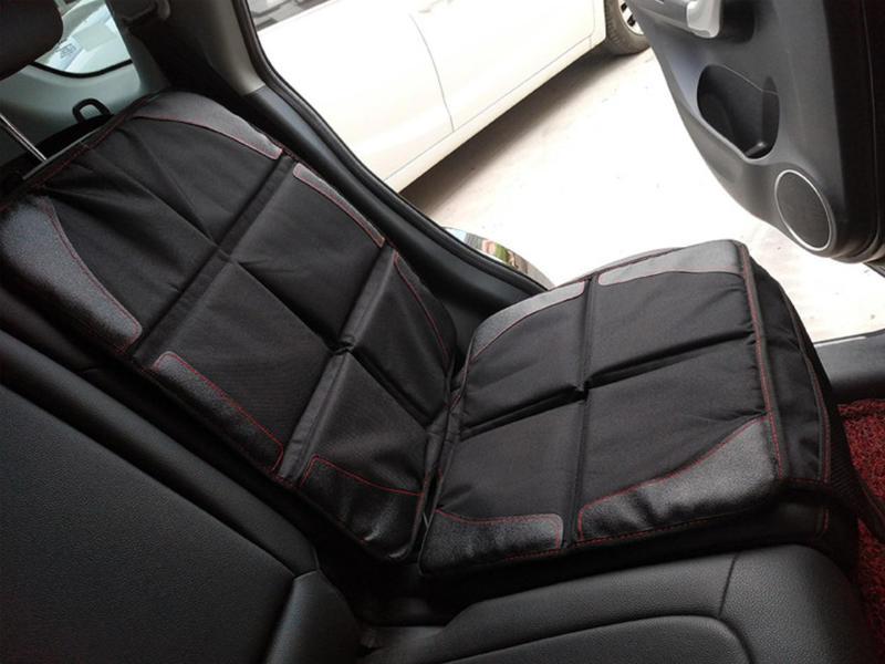 兒童汽車座椅保護墊 安全座椅保護墊 防刮墊 止滑墊 摺疊汽車保護墊 通用款